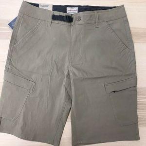 b7294da8fe Weatherproof Men's Comfort Stretch Cargo Shorts